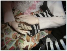 hold your hand by EvilYuki