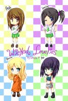 wicked lovely chibis by CamiIIe