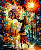 RAINY MOOD by Leonidafremov