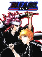 Bleach Ichigo and Renji by kirakam