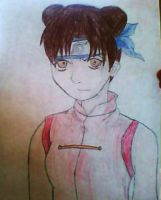 TenTen From Team Gai by XGothicRawkEvalynX