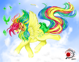 MLP: Skydancer by Manasurge