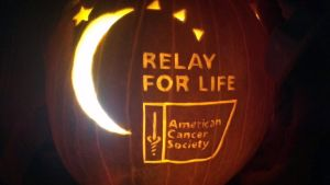 ACS Relay for Life pumpkin by Draug419