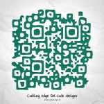 Cutting edge QR Code design by Leconte
