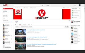 Vincent Youtube Layout by sYpr0