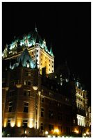 Chateau Frontenac by mikechro
