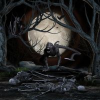 Lair of Bones by mysticmorning