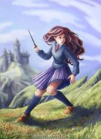 Hermione by Nisato
