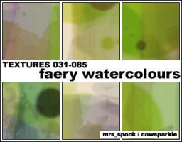 Faery Watercolours Textures by MrsSpock