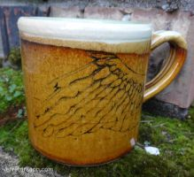 Winged Mug by tser