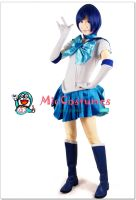 Sailor Moon Mizuno Ami Sailor Mercury Cosplay by miccostumes