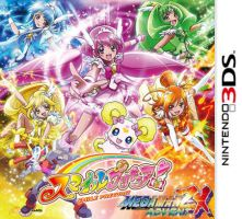 Smile Precure and Megaman ZX Advent 3DS by isaacyeap
