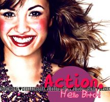 Action Hello Bitch. by BieberOhYeah