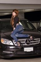 Hana and the Merc - B by DISC-Photography