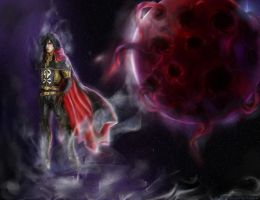 Space Pirate Captain Harlock by Ameretty
