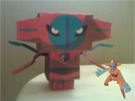 Deoxys Cubee Finished by rubenimus21