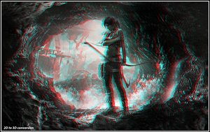 Tomb Raider 2D to 3D conversion by zippy6234