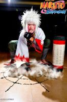 Jiraiya Young by greatestsensei