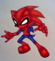 Sonic the Spider-hog by GothNebula