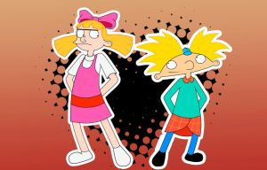 Helga and Arnold by HeboFreire
