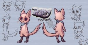 Robby -Model Sheet by IzaPug
