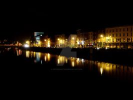 Dublin by Night by CoffeeDoctor