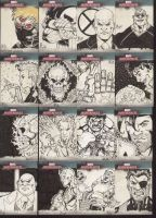 Marvel Cards set 4 by Mulv