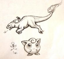 Pkmn sketch dump by Canyx