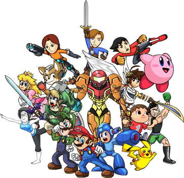 Super Smash Bros. by JeffKyler14