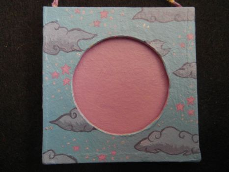 Stars and Clouds small photo frame by Arieegreen