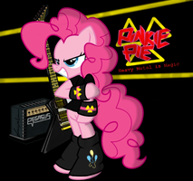 Pinkie Meets Heavy Metal by FlutterThrash