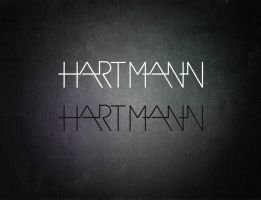 hartmann logotype. by grafeyker