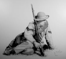"""Confederate First Corporal"" by Trexlerhistoricalart"