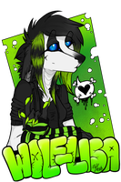 Wolf-Lisa Badges by Wolf-Lisa