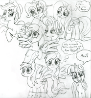 Early Pencil Sketches by wildtiel