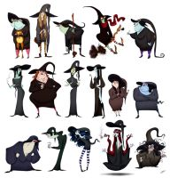 WITCHES SKETCHES by GrievousGeneral