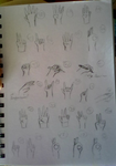 26-50 hand challenge by Cal13-7