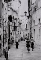 Alleyway in old town Lecce, Italy (daytime) 02 by AlexFleming