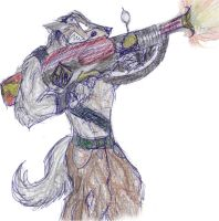 Another Pyro Wolf XD by Smori