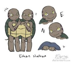 AUT: Ethan and Nathan by 10yrsy