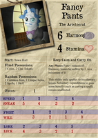 Fancy Pants - Investigator Card by Konsumo