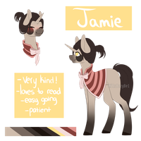 Jamie reference by itsIzzyBel
