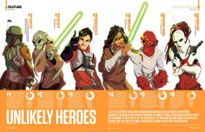 Star Wars: Unlikely Heroes by CoolSurface
