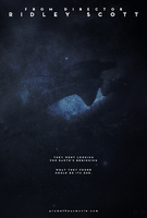 Prometheus Derelict Poster by P2Pproductions