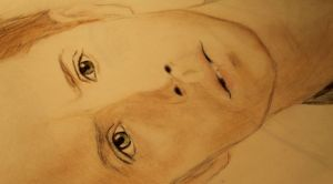 Jensen Ackles drawing (color pencils) by svesh95