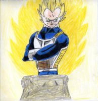 Super Saiyan Vegeta by PanTrunks