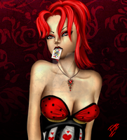 Queen of Hearts by imdyinginside666