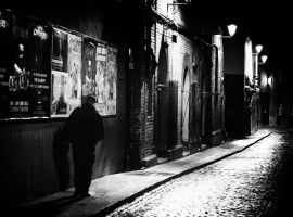 In restless streets I walked alone... by AdrianSadlier