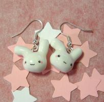 Cute Bunny Earrings by janeybaby