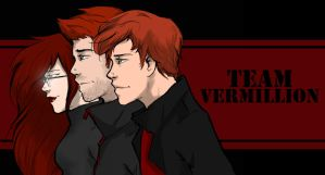 Team Vermillion by redlacedbird
